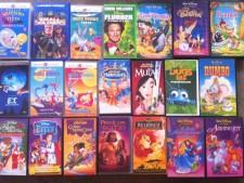 Videocassette Walt Disney usate a Treviso