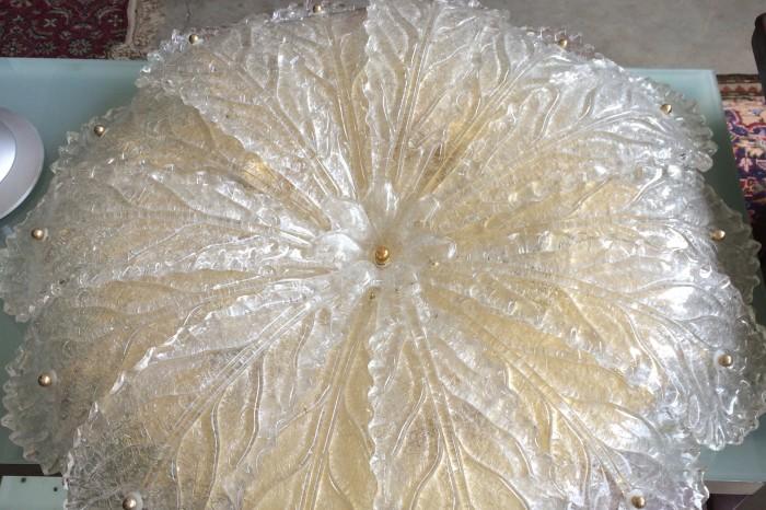 Plafoniere Con Foglie : Plafoniera con foglie murano usata a treviso portobello vintage