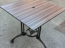 Tavolo da esterno usato a Treviso