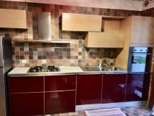 Cucina lineate rossa usata a Treviso