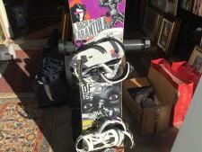 Tavola da snowboard usata a Treviso